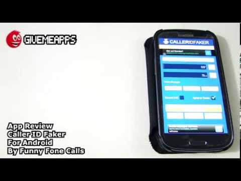 Caller ID Faker For Android! Prank Your Friends With Fake Numbers!