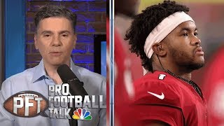 Kyler Murray got dose of adversity vs. Oakland Raiders | Pro Football Talk | NBC Sports
