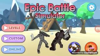 Saison sur epic simulator j3