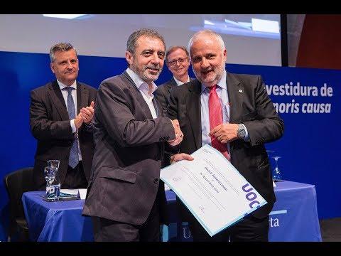 Investidura de doctor honoris causa, Dr. Manuel Borja-Villel