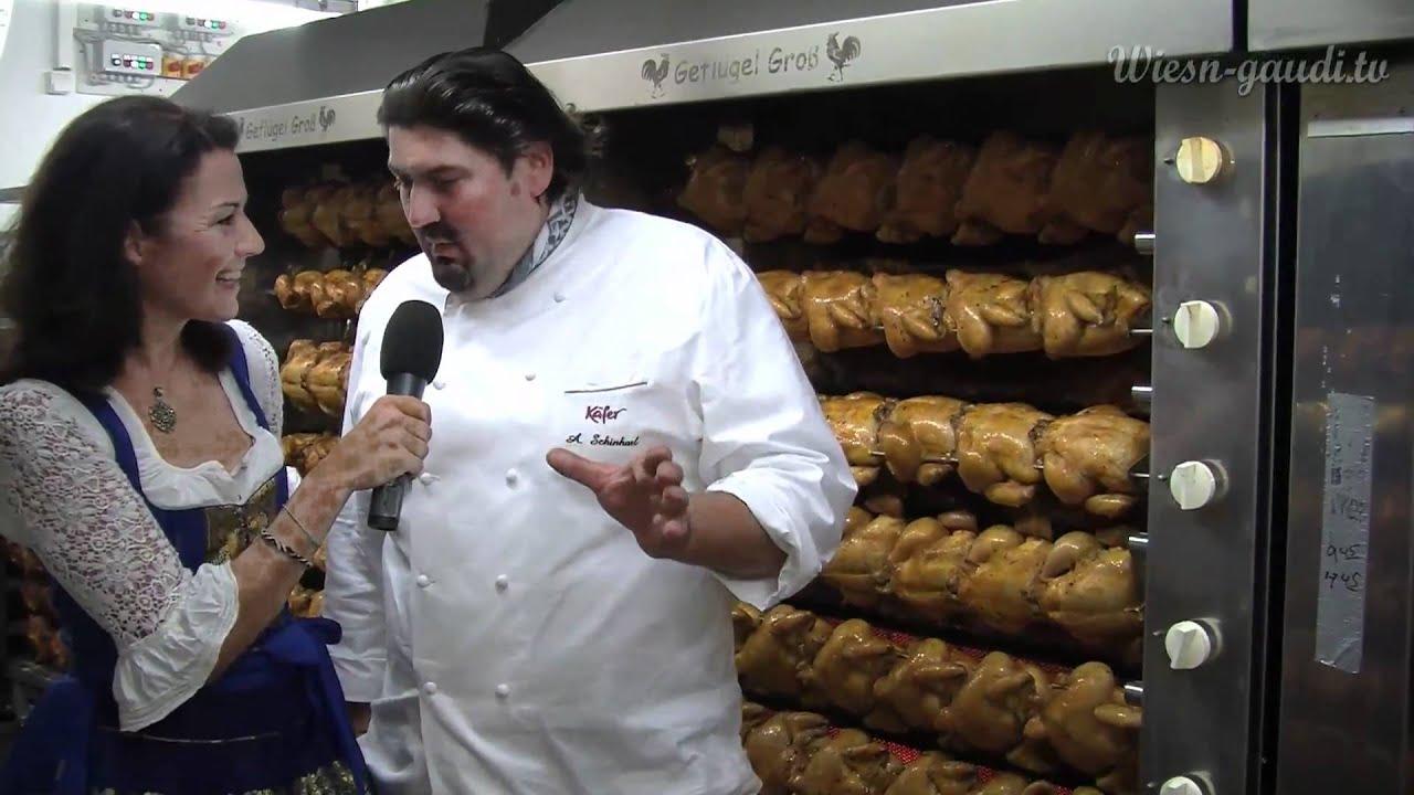 Wiesn Gaudi TV besucht die Küche in der Käfer Wiesn-Schänke ...