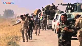 البشمركة تشن هجوما على داعش جنوبي كركوك