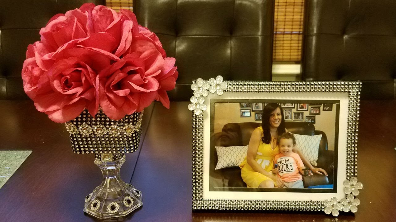 Glam diy home decor youtube for Home decorations youtube