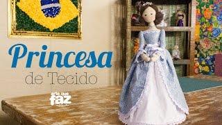 Princesa de Tecido por Luciana Kummer