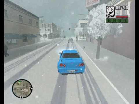 Vanoce In GTA SA