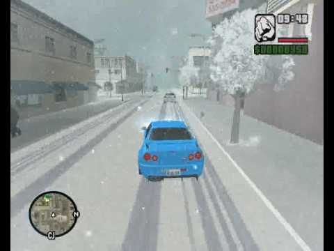 Oбзор Игры Gta San Andreas zima