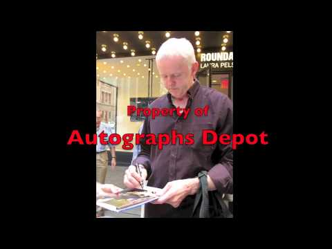 David Morse signing autographs in NYC