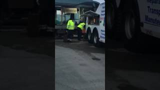 Accident de poid lourd vs tram à bordeaux