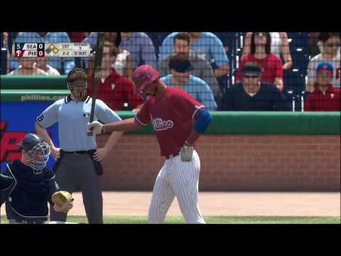 MLB The Show 17 Franchise Mode | Seattle Mariners vs Philadelphia Phillies