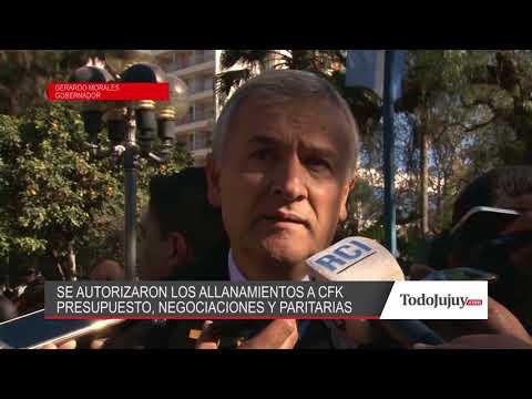 Morales y los allanamientos a las propiedades de Cristina: El Senado actuó bien