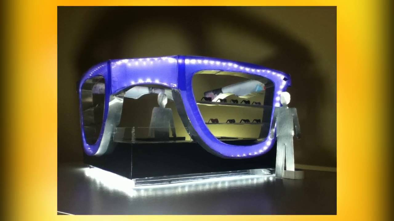 1ed0086f156b Ray-Ban Sunglass kiosk Design by Nadine Abd - YouTube