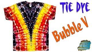 Tie Dye: Bubble V  [Ice Dye]