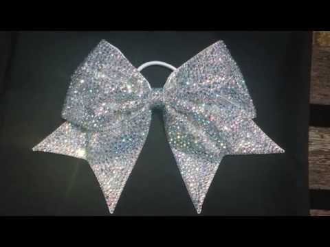 Princess Bow by www.cinderellabows.com - Cheer Bow - Cheerleading - Bling Bow