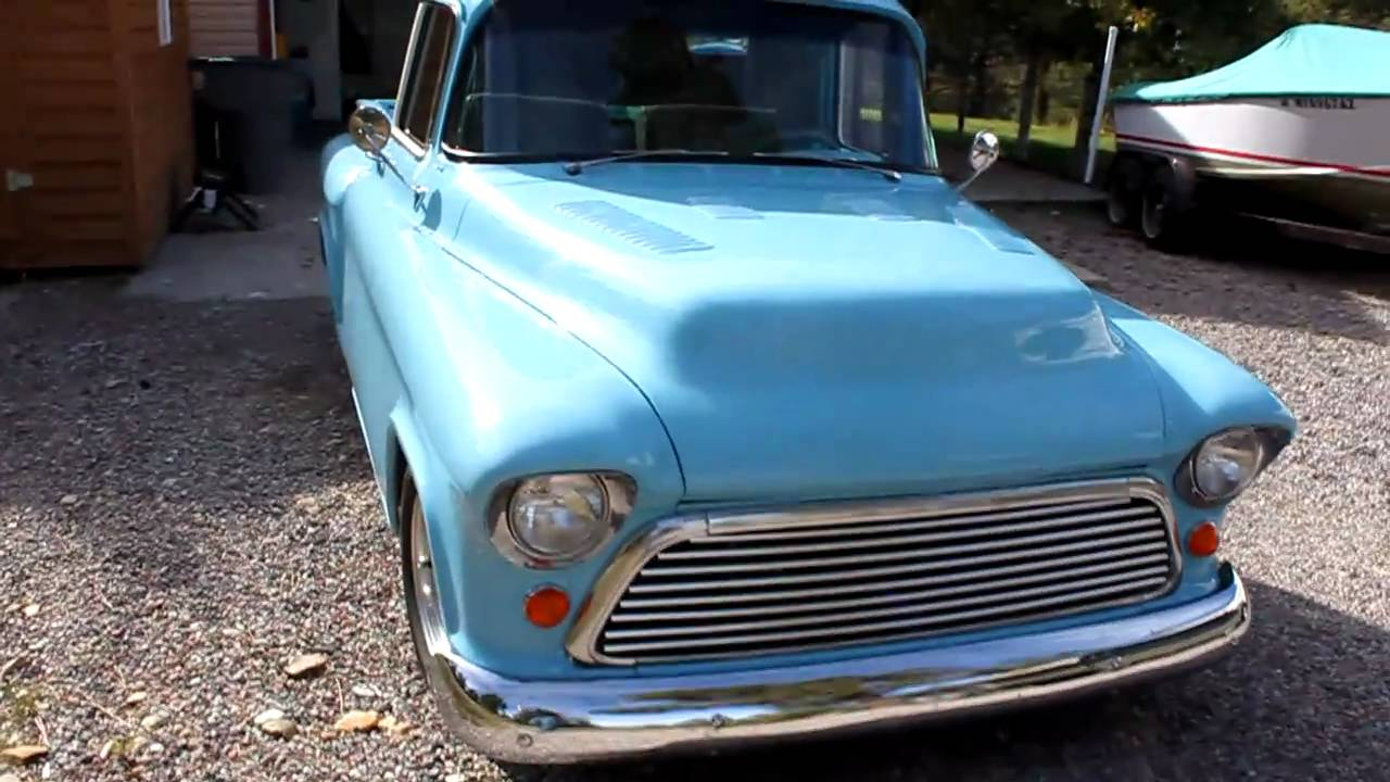 1957 Chevy Truck For Sale - YouTube