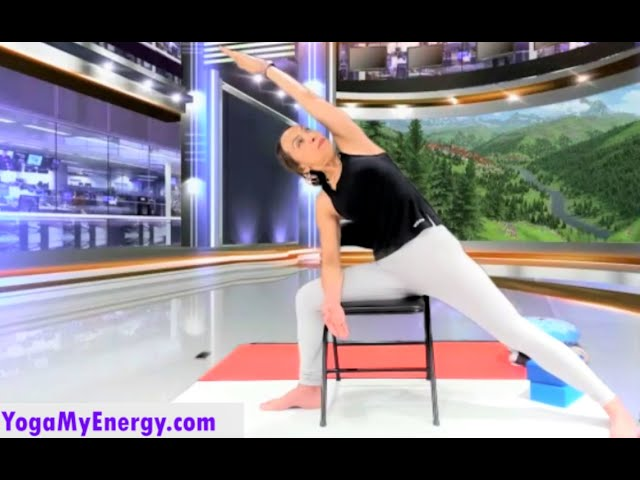 Gentle Chair Yoga for Legs, Hips, Back and Shoulders