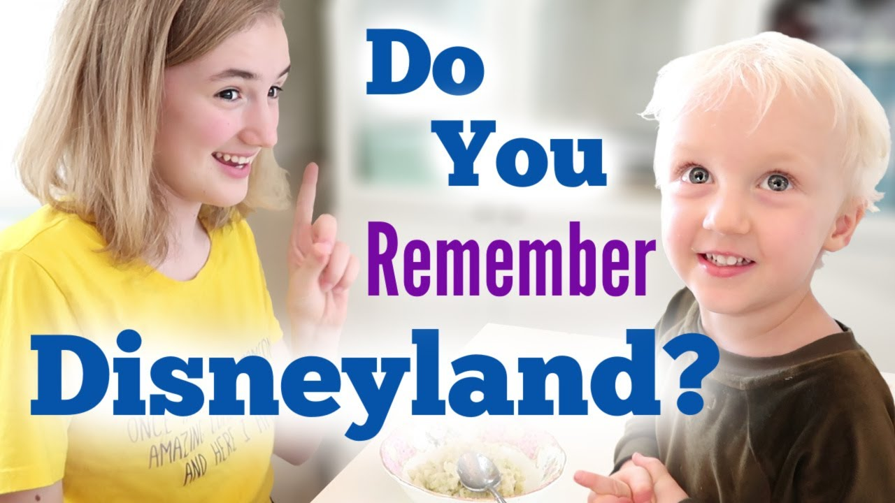 Do You Remember Disneyland?
