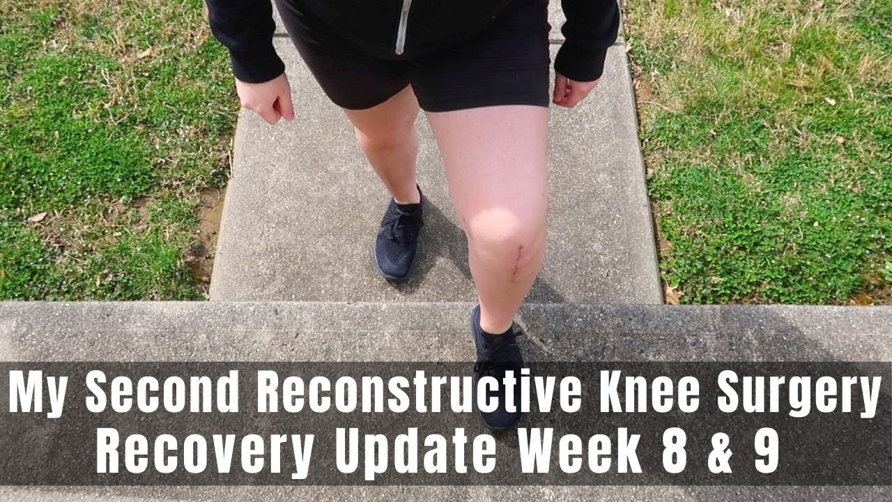 Download My Second Reconstructive Knee Surgery | Week 8 & 9 Recovery Update | TTO, MPFL & Lateral Lengthening
