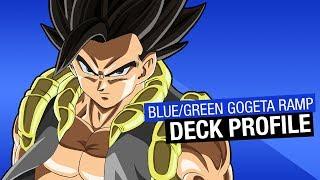 Michael's Blue/Green Gogeta Ramp Android 21 Deck Profile!