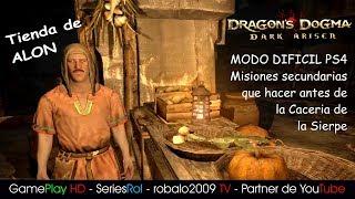 DRAGON DOGMA DIFICIL PS4 Misiones secundaria que hacer antes de la Caceria de la Sierpe | SeriesRol
