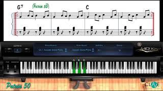 Como Tocar Merengue En El Piano   Patron #50