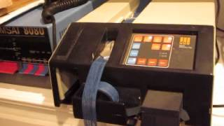 DSI NC-2400 Tape Punch/Reader - Punching Tape 75 CPS