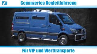 Gepanzerte Begleit- und Konvoifahrzeuge für VIP und Werttransporte