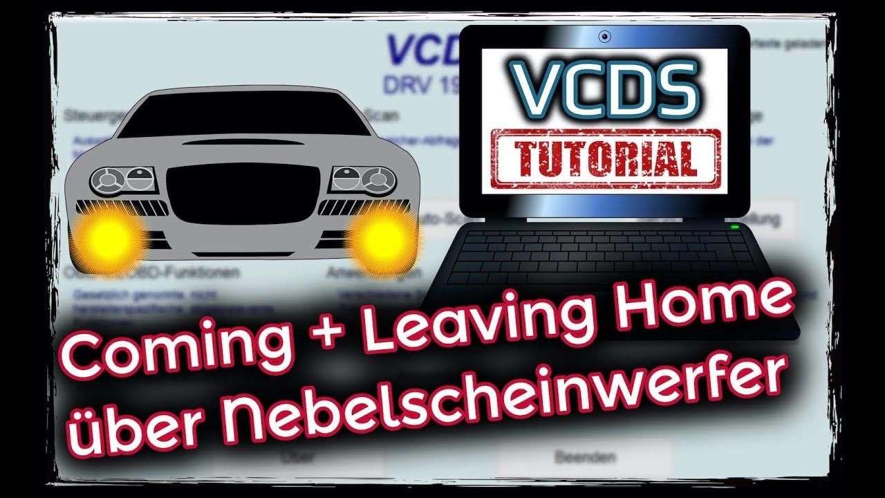 vcds coming home leaving home ber nebelscheinwerfer golf 6 youtube. Black Bedroom Furniture Sets. Home Design Ideas