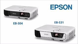 видео Проектор Epson EB-X04