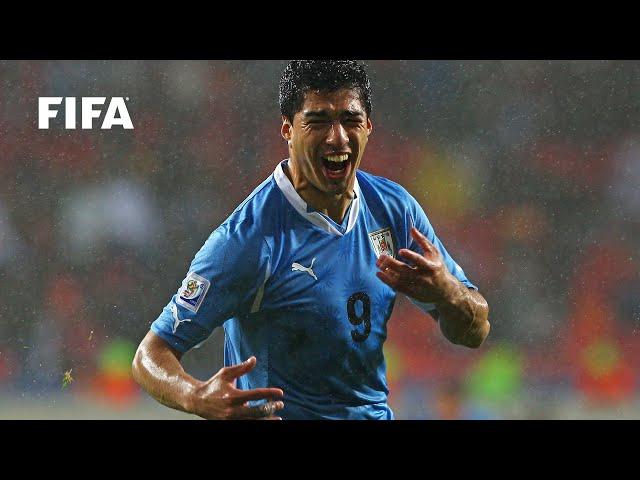 Luis Suarez goal vs Korea Republic | ALL THE ANGLES | 2010 FIFA World Cup