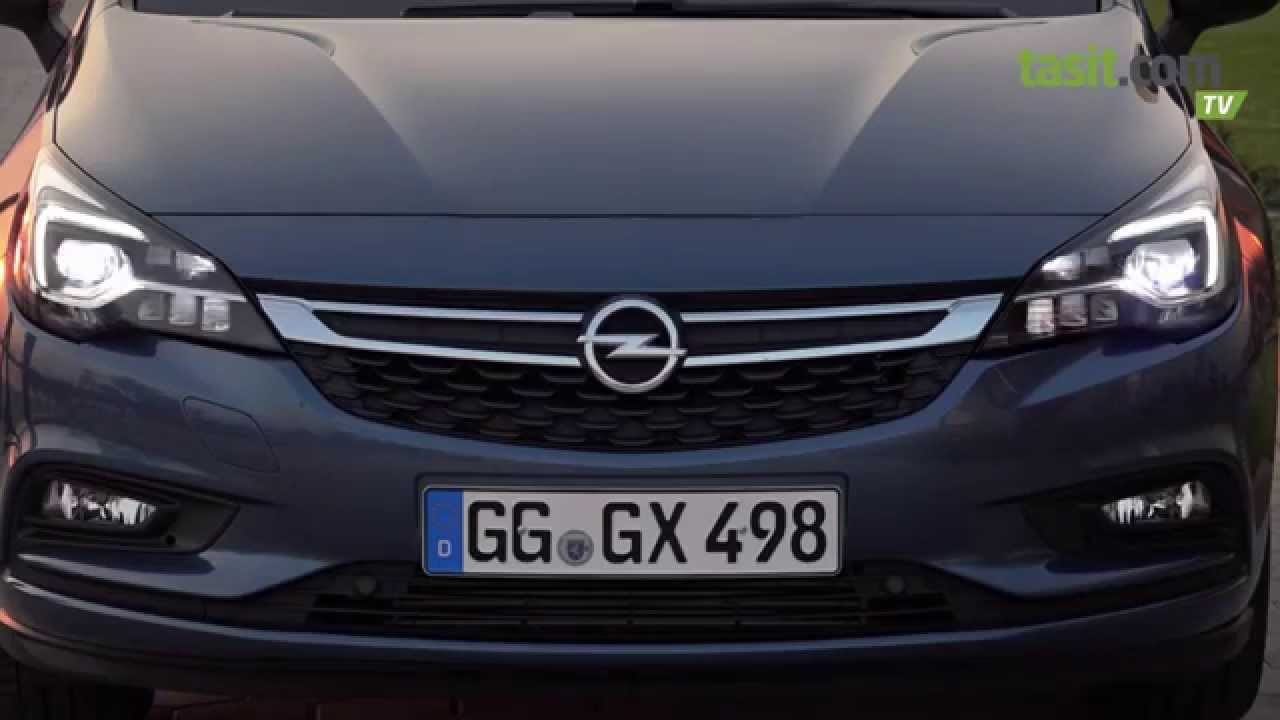 2016 Opel Astra Test Surusu Youtube