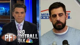 Mike McCarthy's play calling limiting Aaron Rodgers   Pro Football Talk   NBC Sports