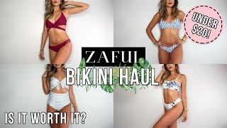 ZAFUL BIKINI HAUL UNDER $20! | IS IT WORTH IT?