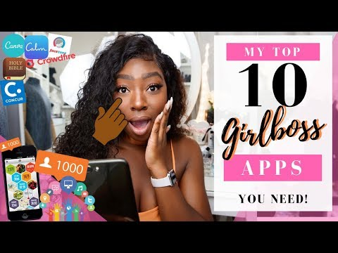 My Top 10 Girlboss Apps To Edit Images, Build Your Brand, Grow Your Following & Stay Productive!!