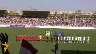 Football, Tajikistan-Uzbekistan - 1