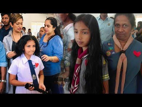 Ratnapura Girl Scouts Hair Donation Campaign