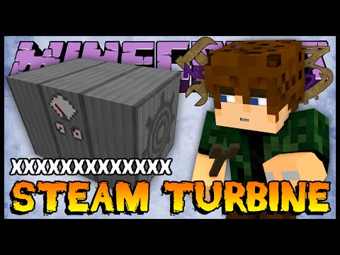 Steam Turbine - Nofaxuland 3 #97 (Minecraft + Mods 1.6.4)