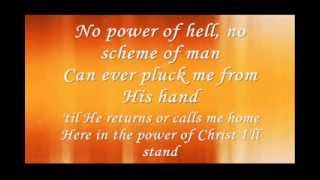 In Christ Alone By Newsboy