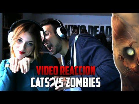 CATS VS ZOMBIES | YUGO Y YAIMA VÍDEO REACCIÓN