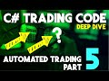 Automated Trading Part 5: Let Me Explain