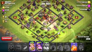 Clash of Clans ATTACK - 6 Golem & 15 wizz attack on TH10 001