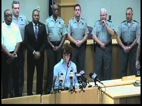 Charleston County Sheriff's Office Press Conference 09-09-14