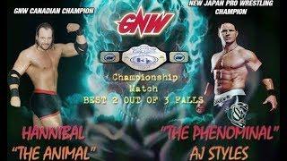 AJ Styles vs HANNIBAL - Title Match thumbnail