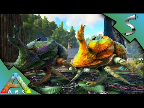 DUNGBEETLE TAMING! SLIGHTLY FAILING TO FIND THEM! - Ark: Survival Evolved [S3E107]