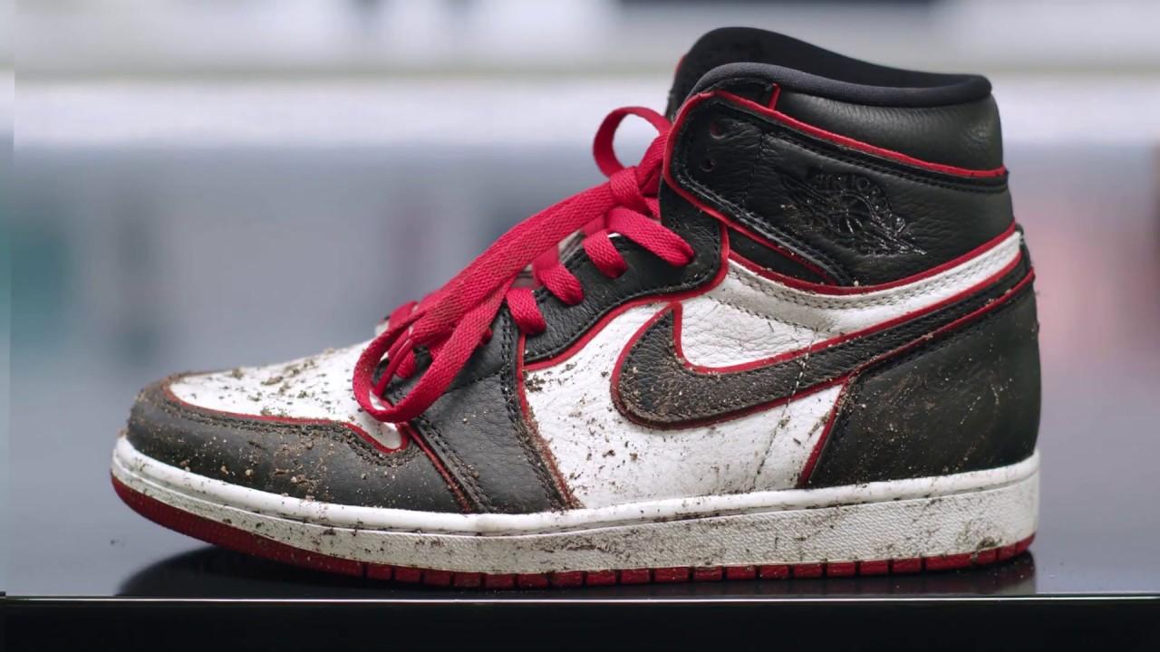 How To Clean Air Jordan 1 Sneakers