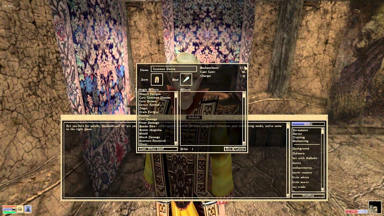 Morrowind for Beginners: Enchanting is Easy!