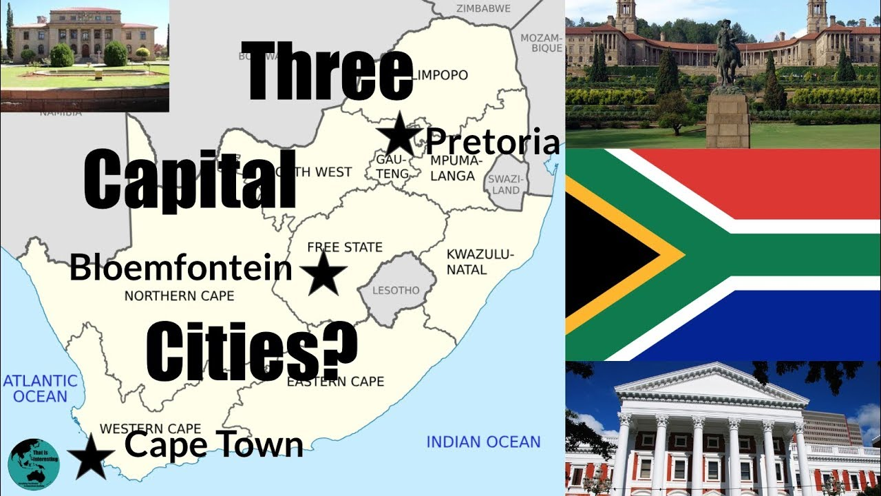 Why Does South Africa Have Three Capital Cities? - YouTube