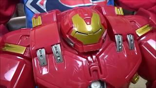 hulk stealing candy iron man stops him with hulk buster armor mph123