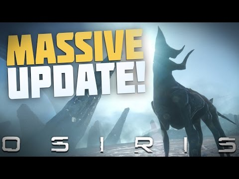 Osiris New Dawn - DAWN OF AZIEL UPDATE! New Planet & Skill Web - Let's Play Osiris New Dawn Gameplay