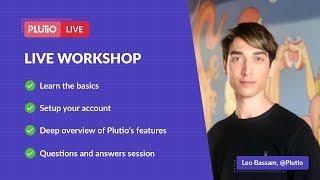 Plutio Live Workshop