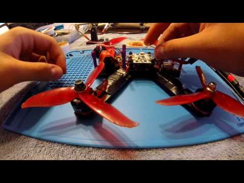 Drone repair: fixing bad solder joints, wires, and connector